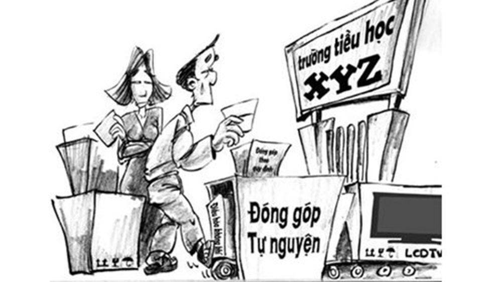 Kết quả, thanh tra, đột xuất, cơ sở, giáo dục, có dấu hiệu lạm thu