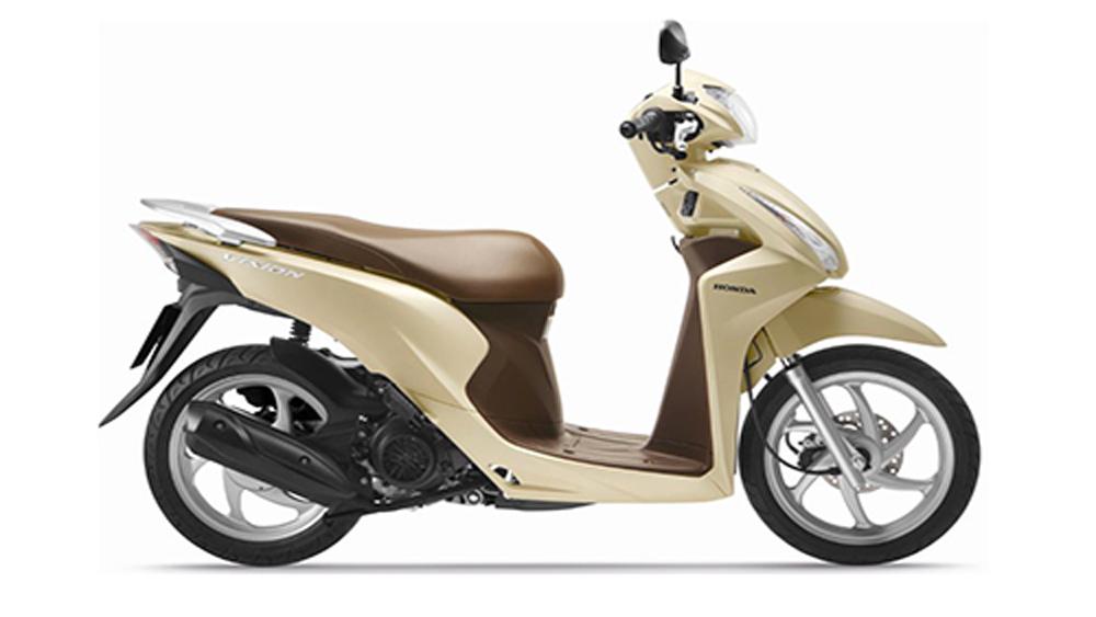 Honda Vision, màu mới, 30 triệu đồng, cải tiến