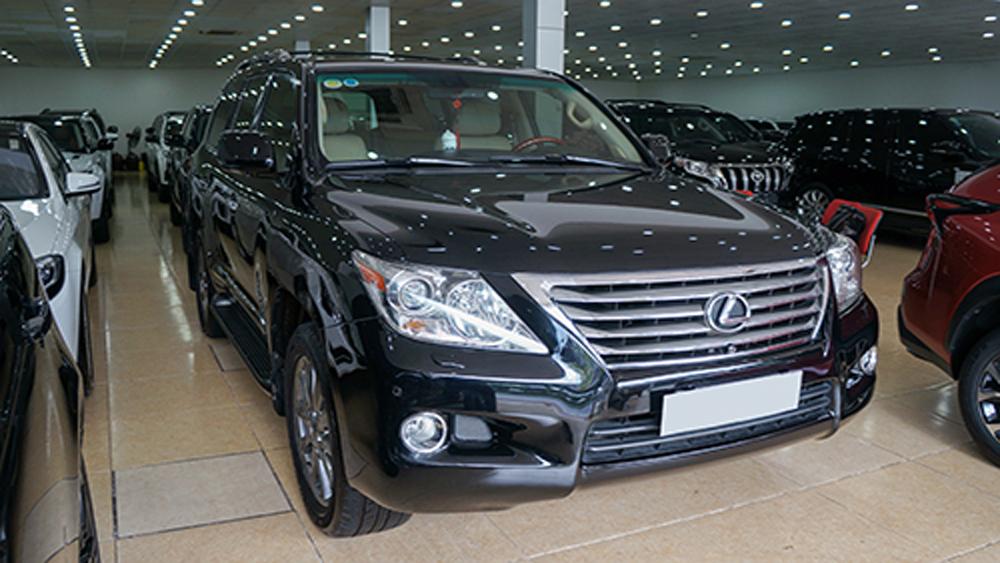 Lexus LX570 đời 2008, giá bán, gần 2,5 tỷ ,giữ giá, Việt Nam