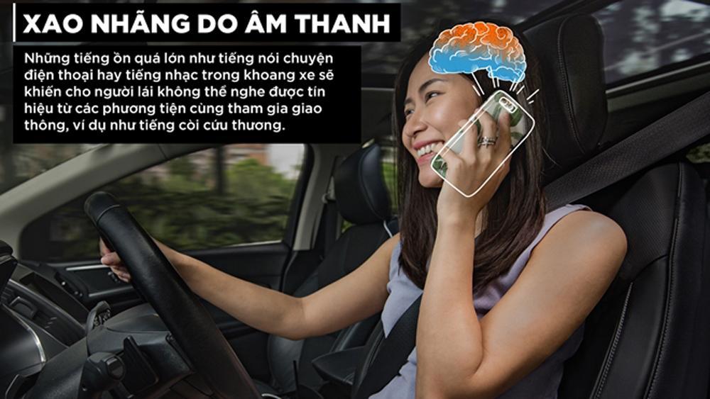 """Não bộ, """"lập trình"""", lái xe, điện thoại"""