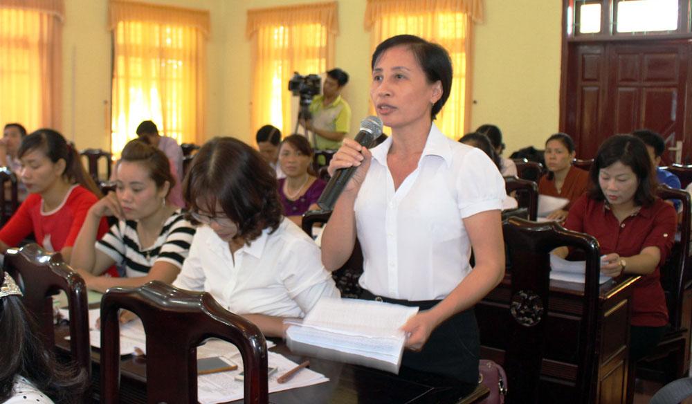 Đại biểu, Quốc hội, tiếp xúc, cử tri, giáo dục, huyện Yên Thế
