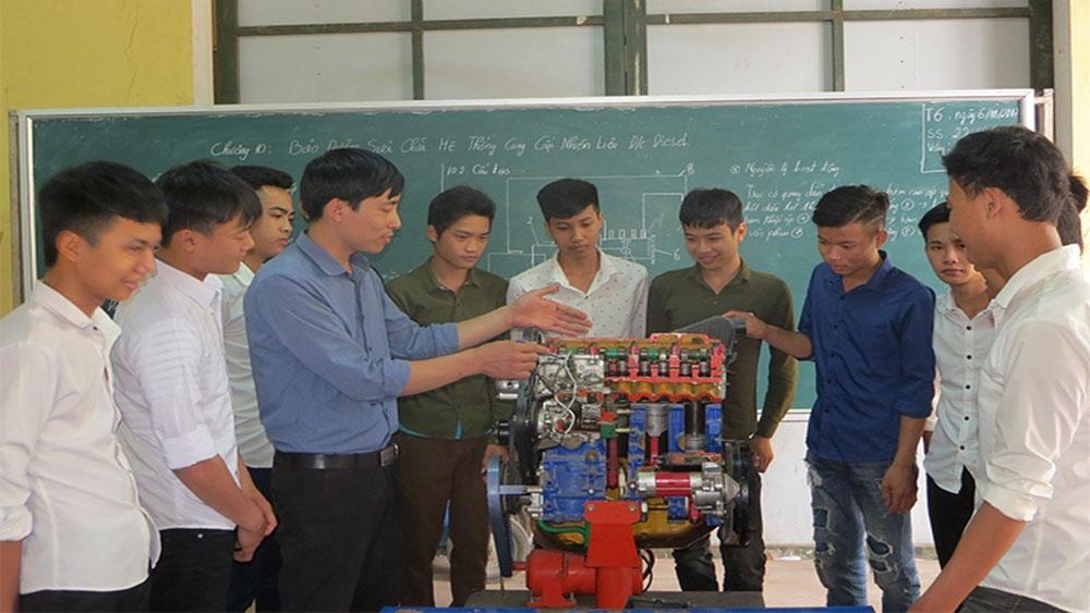 mô hình, Một đơn vị nhiều chức năng, Trung tâm Giáo dục nghề nghiệp - Giáo dục thường xuyên (GDNN - GDTX) huyện Lục Nam