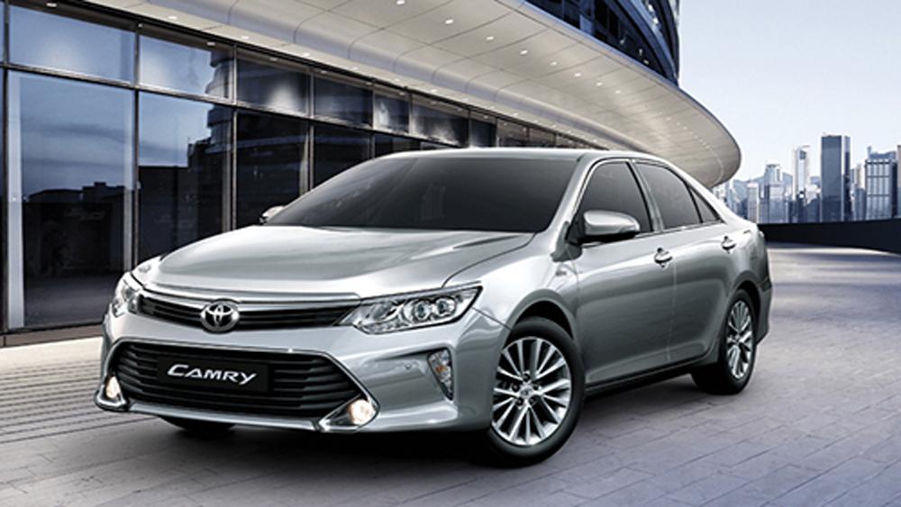 Toyota Camry, giảm gias, 100 triệu đồng, Việt Nam