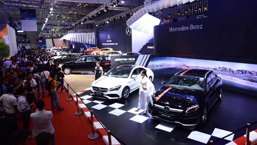 Mẫu xe, Mercedes-Benz, sẵn sàng, VIMS 2017