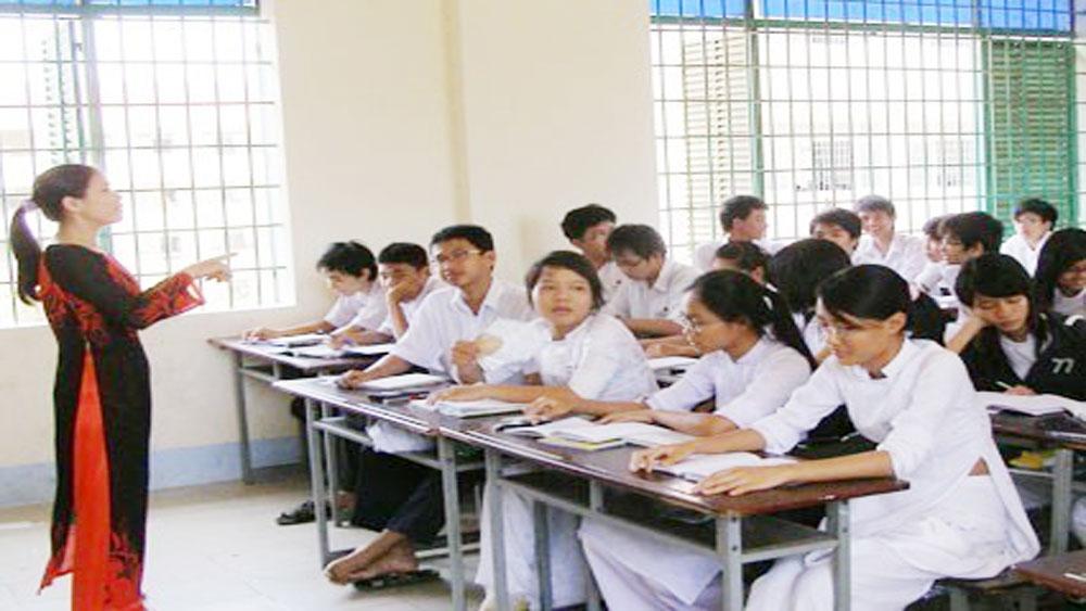 Hướng dẫn, thực hiện, chương trình, giáo dục, phổ thông