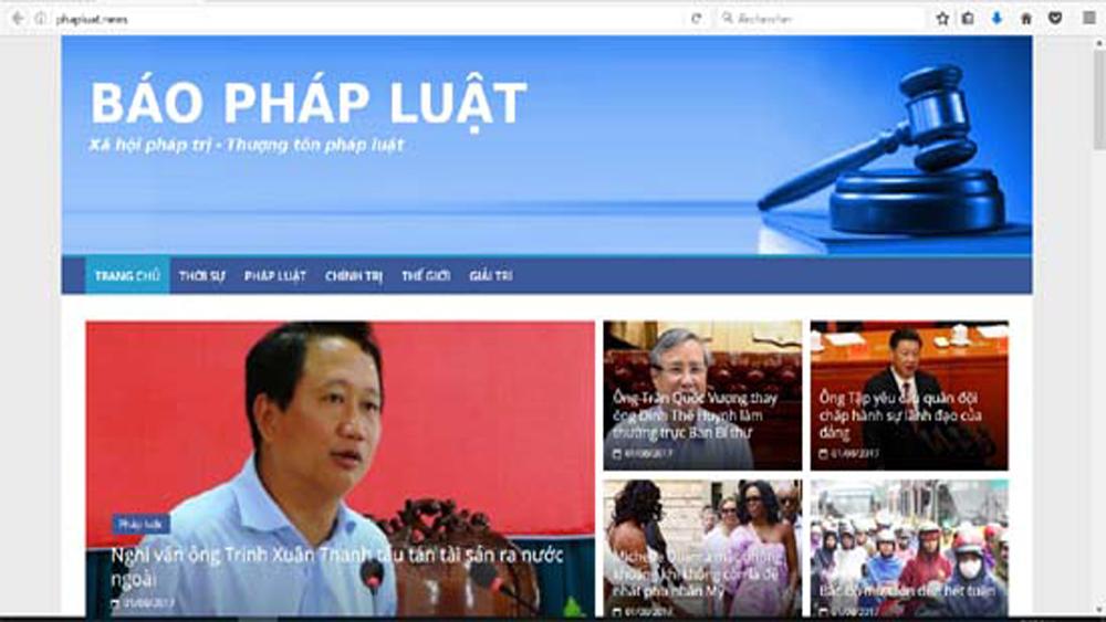 Trang web, mạo danh, Sở Tư pháp, Hà Nội, đăng tin, thất thiệt