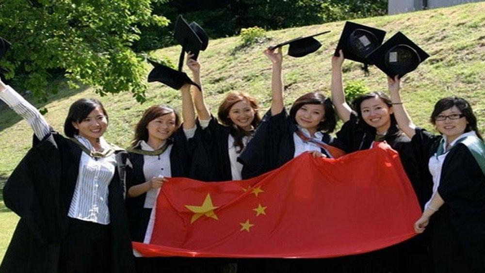 Trung Quốc, trở thành, nước đứng đầu, châu Á, thu hút, lưu học sinh
