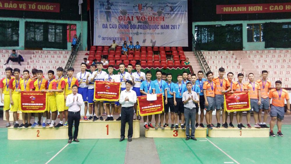 Bắc Giang, xếp thứ Nhất, Giải vô địch, đá cầu, toàn quốc