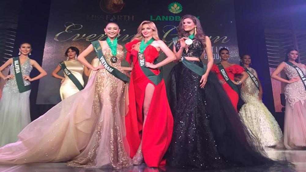 Hà Thu, huy chương đồng, thứ hai, Hoa hậu Trái đất, 2017