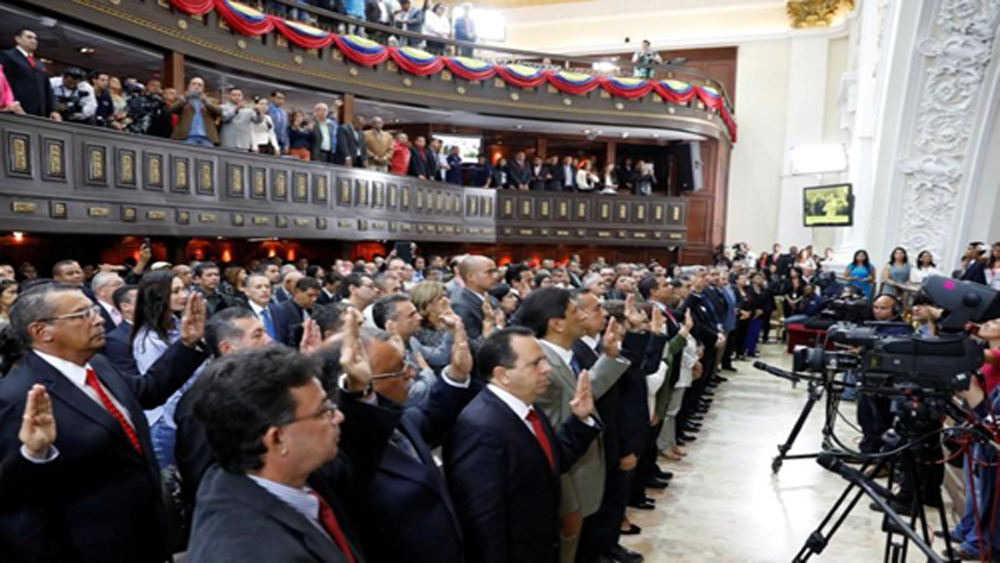 Venezuela, thống đốc, đối lập, tuyên thệ, Quốc hội lập hiến
