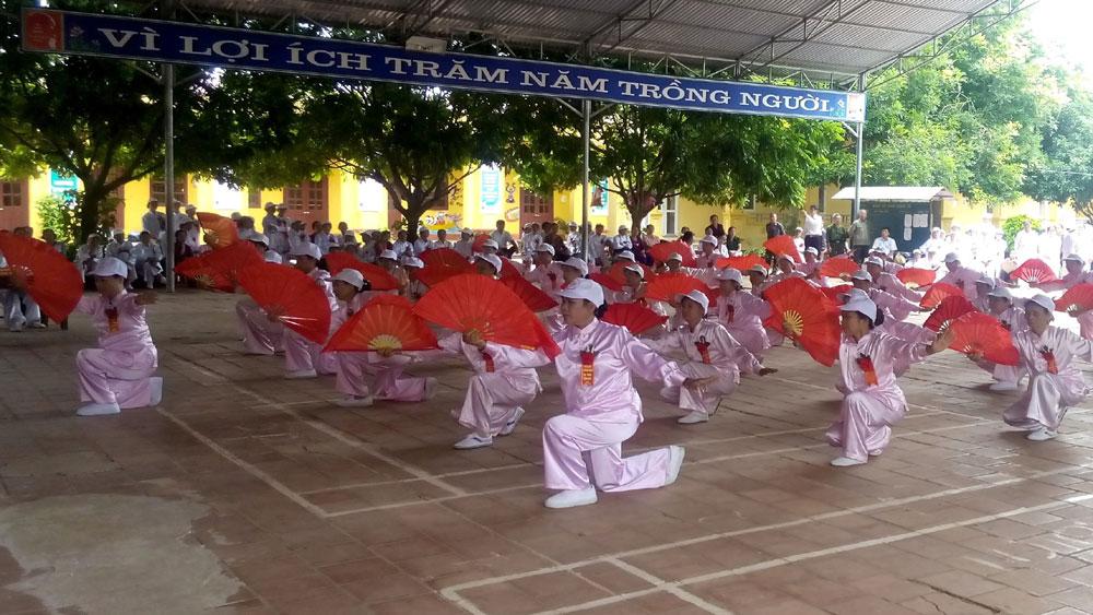 Từ ngày 15 đến 24-10, Hội Người cao tuổi (NCT) huyện Yên Thế, Phòng Văn hóa - Thông tin, Trung tâm Văn hóa - Thể thao