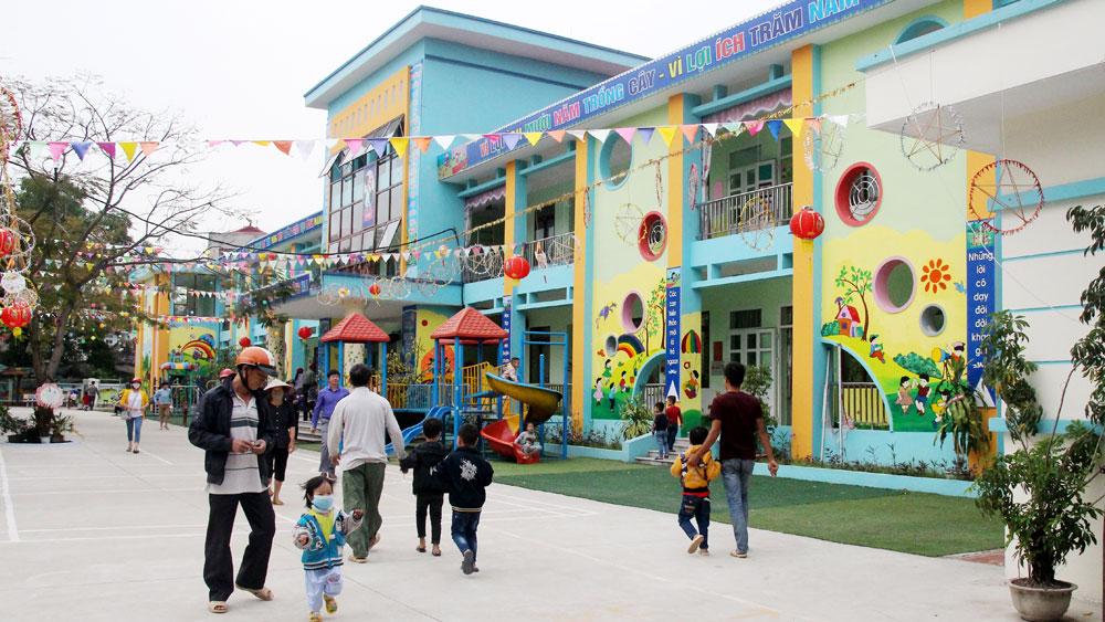 TP Bắc Giang, tăng chất, giáo dục ngoại thành