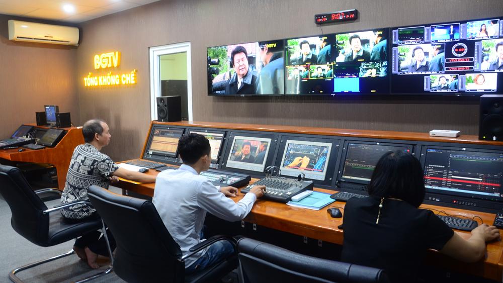 Truyền hình, hội tụ, Đài PT-TH Bắc Giang, kỹ thuật viên