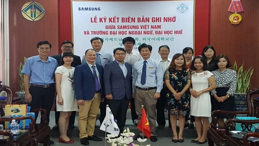 Samsung, hỗ trợ, 6 tỷ đồng, học bổng, sinh viên, học tiếng Hàn