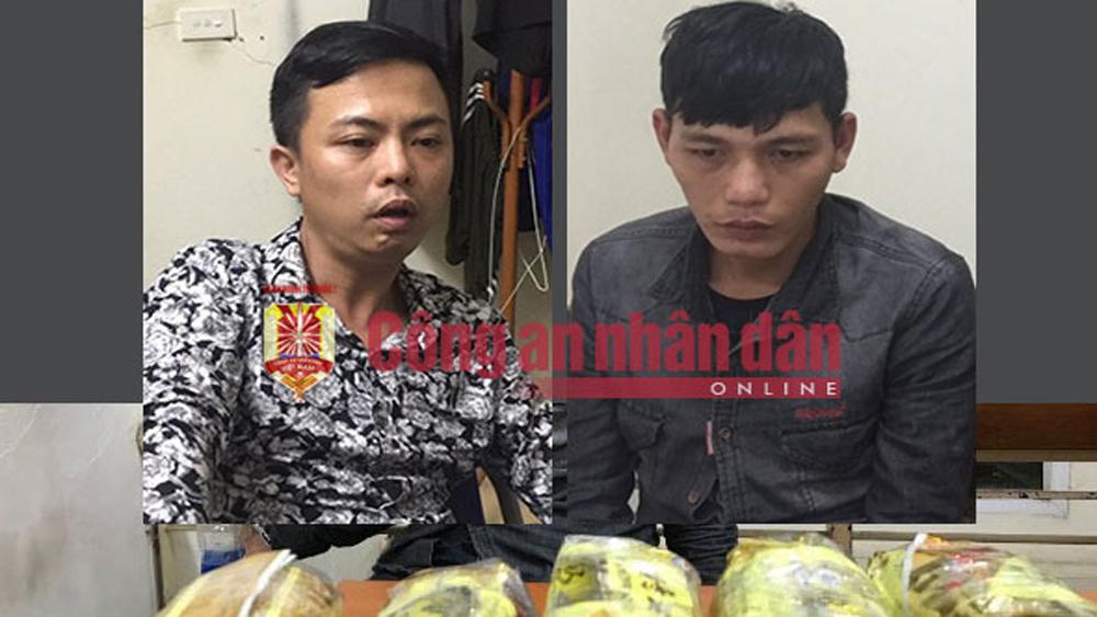 Triệt xóa, đường dây, ma túy, cực lớn, Nghệ An, Hà Nội, bắt giữ, đối tượng, thu giữ, 10kg, ma túy đá