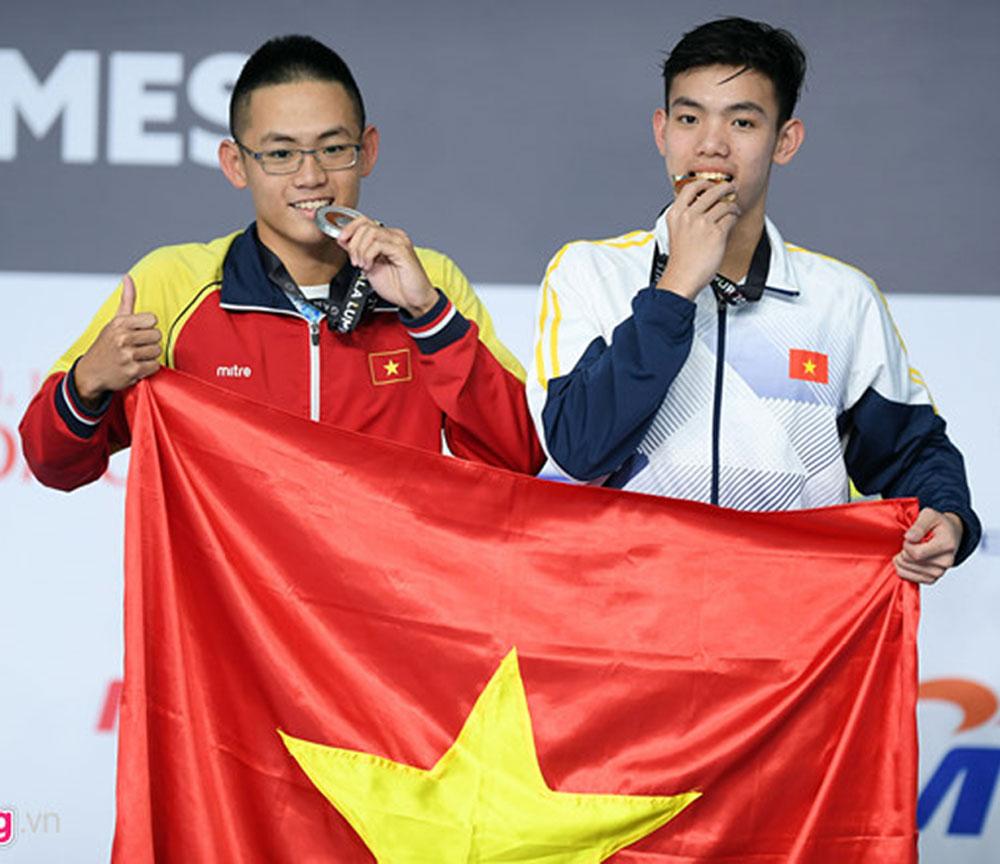 Nhiều gương mặt trẻ, tỏa sáng, Bơi lội, Việt Nam