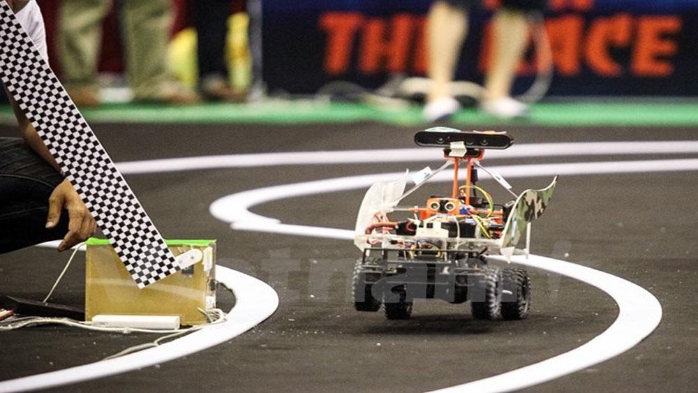 Cuộc thi, lập trình, xe tự hành FPT, tổng giá trị giải