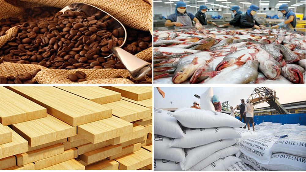 Xuất khẩu, nông lâm thủy sản, gần 30 tỷ USD, 10 tháng