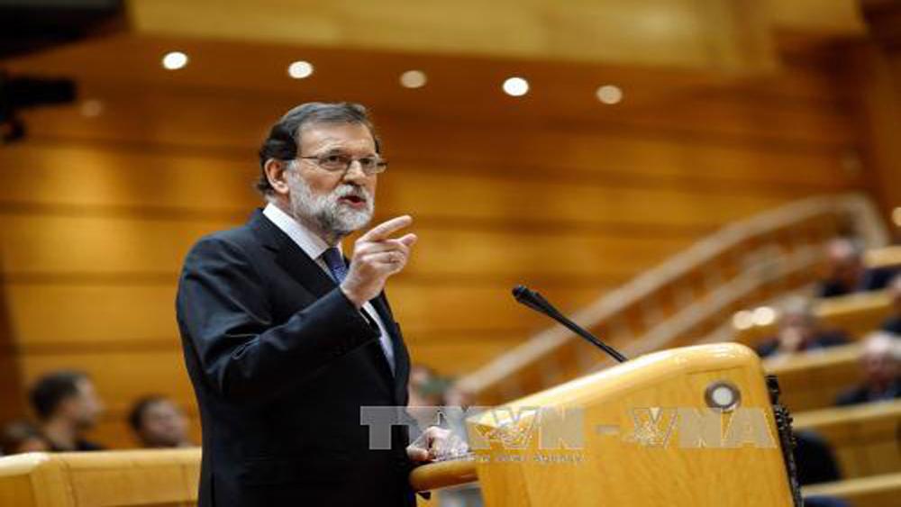 Thủ tướng, Tây Ban Nha, giải tán, cơ quan, lập pháp, Catalonia, ra lệnh, bầu cử